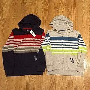 Bundle of 2 Gap Youth Long Sleeve Hood Shirts